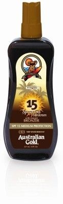 SPF 15 SPRAY GEL W/ BRONZER 237ml