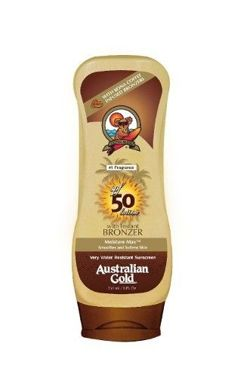SPF 50 LOTION W/ BRONZER 237ml